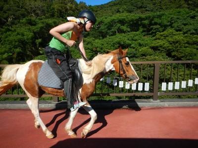 乗馬体験6